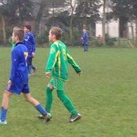 Photo taken at Marcel De Kerpelstadion by Angie on 11/24/2012