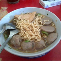 Photo taken at Bakso Gepeng Andayani by Angga O. on 7/4/2013