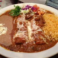 Photo taken at Polvos Mexican Restaurant by John R. on 2/18/2013