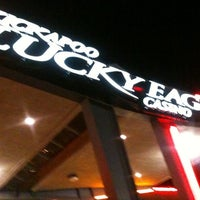 Photo taken at Kickapoo Lucky Eagle Casino by John R. on 11/24/2012