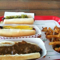 Photo taken at Connors Hot Dog Stand by Denis Y. on 8/8/2013