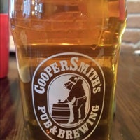 Photo taken at CooperSmith's Pub & Brewing :: Pubside by Rick A. on 11/2/2013