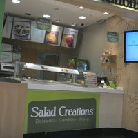 Photo taken at Salad Creations by Caio A. on 4/17/2013