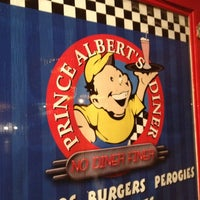 Photo taken at Prince Albert's Diner by Mike D. on 11/24/2012