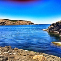 Photo taken at Kayalık Beach by Serra M. on 7/23/2016
