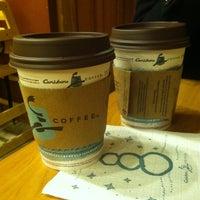 Photo taken at Caribou Coffee by John P. on 1/26/2014