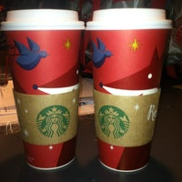 Photo taken at Starbucks by Joey on 11/16/2012