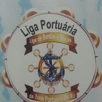 Photo taken at Liga de Blocos e Bandas da Zona Portuária do RJ by Ricardo B. on 10/8/2014