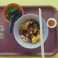 Photo taken at Ah Kow Mushroom Minced Pork Mee by Nicholas L. on 4/24/2015