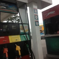 Photo taken at Gasolinera Puma by Fanny on 10/21/2012