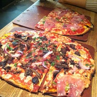 Photo taken at Waldy's Wood Fired Pizza & Penne by Caroline K. on 1/21/2013