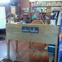 Photo taken at Salon Halloo by Beth H. on 9/18/2012