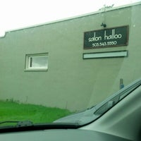Photo taken at Salon Halloo by Beth H. on 12/18/2012
