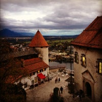 Photo taken at Blejski Grad | Bled Castle by Olga on 11/3/2012