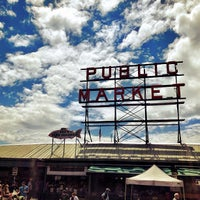 Photo taken at Pike Place Market by Jon on 6/1/2013