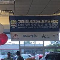 Photo taken at Crown Motors Toyota Volkswagen by Joseph on 8/20/2015