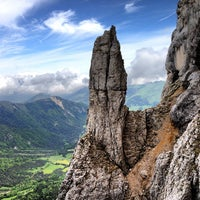 Photo taken at Mont Aiguille by Paige C. on 6/11/2013