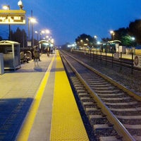 Photo taken at Mountain View Caltrain Station by Masa N. on 10/15/2012