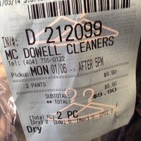 Photo taken at McDowell Cleaners by Tony C. on 3/7/2014
