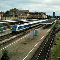 Photo taken at Lindau Central Station by Karlsruher2 on 9/30/2012