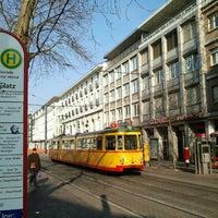 Photo taken at H Marktplatz by Karlsruher2 on 4/1/2013