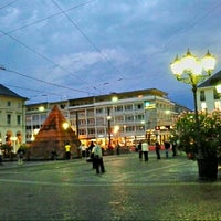 Photo taken at H Marktplatz by Karlsruher2 on 9/18/2012