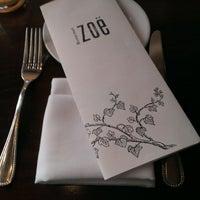 Photo taken at Restaurant Zoë by Tim G. on 4/16/2013