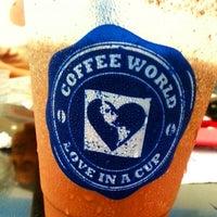 Photo taken at Coffee World by Alan L. on 6/13/2014