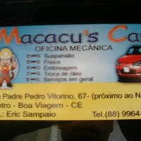 Photo taken at Macacu's Car by Thallyson S. on 6/8/2013