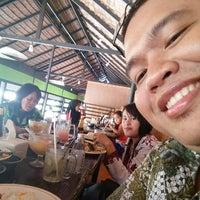 Photo taken at Ayam Bakar Wong Solo by yosep s. on 3/8/2015