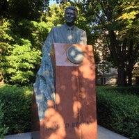 Photo taken at Pomnik Ronalda Regana by Carlo M. on 8/20/2014