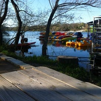 Photo taken at Rowing Dock by Sydney on 3/14/2013