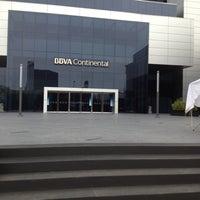 Photo taken at BBVA Continental by Dennis on 11/14/2012