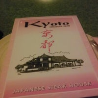 Photo taken at Kyoto Japanese Steakhouse by Shannon C. on 1/29/2013