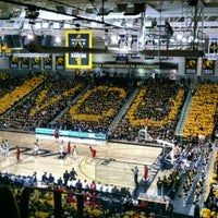 Photo taken at Stuart C. Siegel Center by Lynne on 1/10/2013
