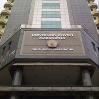 Photo taken at Graha Widya Maranatha (GWM) by Brigitta L. on 11/11/2012