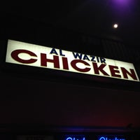 Photo taken at Al Wazir Chicken by Nick on 3/22/2013