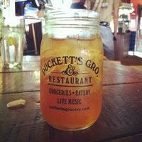 Photo taken at Puckett's Grocery & Restaurant by Melissa B. on 5/3/2013