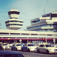 Photo taken at Berlin Tegel Otto Lilienthal Airport (TXL) by Ya G. on 6/17/2013