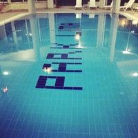 Photo taken at Park Lima Swimming Pool by Elif on 10/5/2014