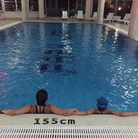 Photo taken at Park Lima Swimming Pool by Elif on 7/25/2015