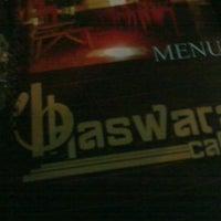 Photo taken at Bhaswara Cafe by Izza Cahya K. on 10/21/2012