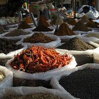 Photo taken at Mapusa Market by Helen K. on 10/9/2012