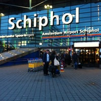 Photo taken at Amsterdam Airport Schiphol (AMS) by R J. on 11/21/2013