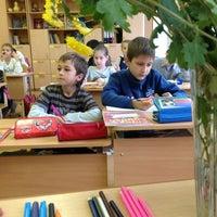"Photo taken at Школа ""Эврика"" Им. Михаила Нагибина by Tatyana on 10/15/2013"