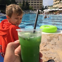Photo taken at Main Pool @ Sol Palace Hotel by Cenk on 9/14/2016