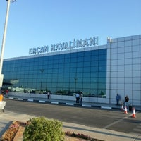 Photo taken at Ercan Airport (ECN) by Cüneyt T. on 7/19/2013