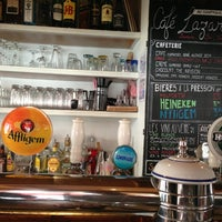 Photo taken at Café Lazar by Eric C. on 6/3/2013