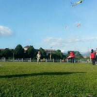 Photo taken at Taman Layang-Layang (Kite Flying) Kepong by farieza on 2/2/2013