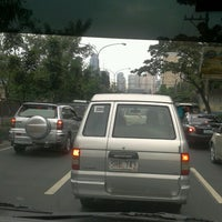 Photo taken at Ortigas & Greenmeadows Avenue Intersection by Maricel O. on 11/14/2012